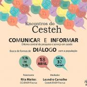 Encontros do Cesteh - abril